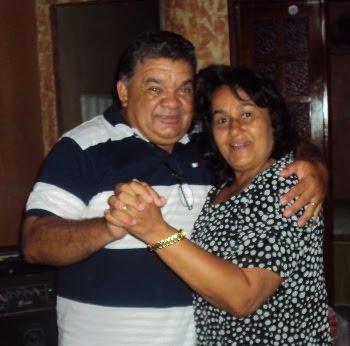 Pastor Amaury e sua esposa Irmã Antonete