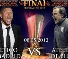 Atlético de Madrid vs Atlético de Bilbao Simeone vs Bielsa final de la Liga de Europa