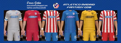 PES 2014 Atletico Madrid Fantasy GDB by Onur Cetin
