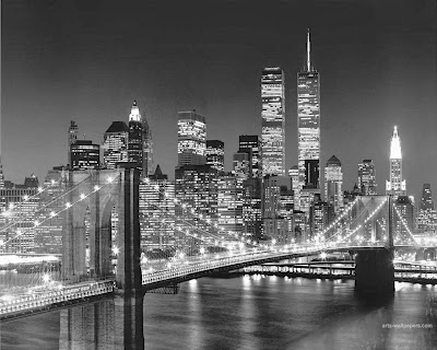 New York City black and white free desktop wallpapers