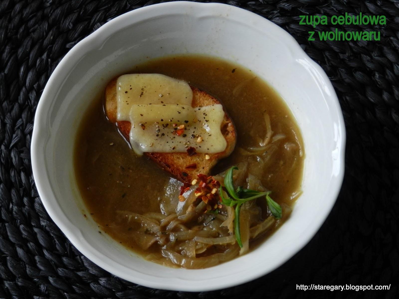 Zupa cebulowa z wolnowaru