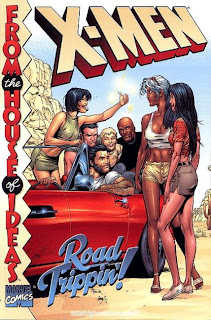 Review X-Men Road Tripping Gary Frank Cam Smith Liquid! Scott Lobdell Chris Claremont John Francis Moore Larry Hama Mary Jo Duffy Chris Bachalo Marc Silvestri Rob Liefeld Bryan Hitch Adam Pollina Adam Kubert John Byrne Ken Landgraf Uncanny X-Men Generation X X-Force Wolverine Marvel Treasury Storm Dani Moonstar Marvel Cover trade paperback tpb comic book