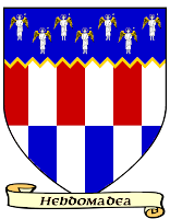 Coat of Arms Hebdomadea Bettellyn Alphatia
