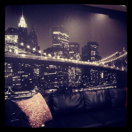 New York Skyline Wallpaper: Home Wallpaper: New York Skyline Wallpaper For Your Walls