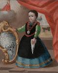 PRIMER DOCUMENTO PICTORICO QUE MUESTRA LA INDUMENTARIA TRADICIONAL DE SEGOVIA - AÑO DE 1749