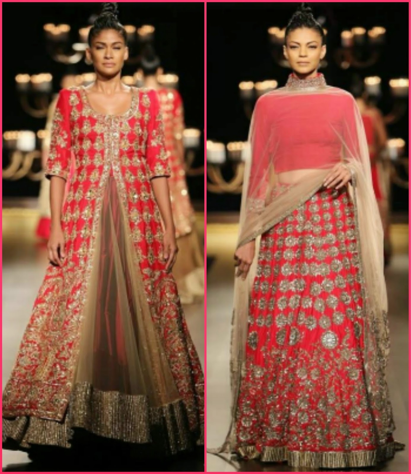 Manish malhotra indian couture week 2014