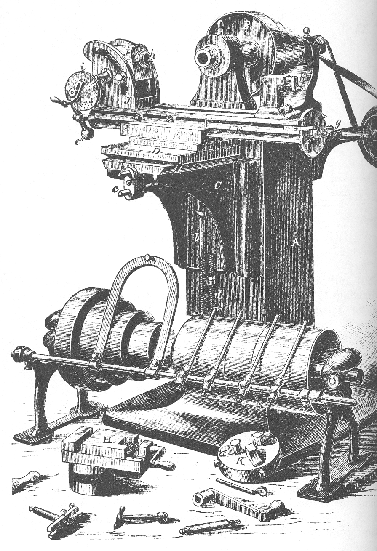 universal milling machine.