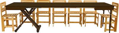 Lg lesmo tavolo a scomparsa una soluzione perfetta per i - Tavolo 14 posti ...