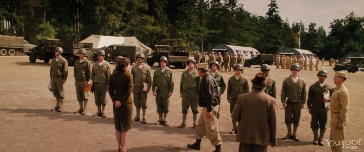 trailer for Captain America: The First Avenger courtesy of Yahoo
