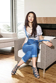 Jun Ji Hyun,Guess Jean Photoshoot