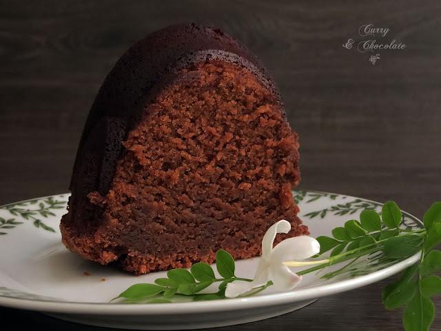 Bizcocho de cerveza Guinness y chocolate - Chocolate Guinness Bundt Cake