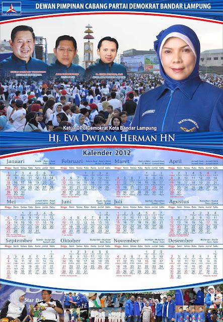 Kalender 2012 DPC Kota Bandar Lampung