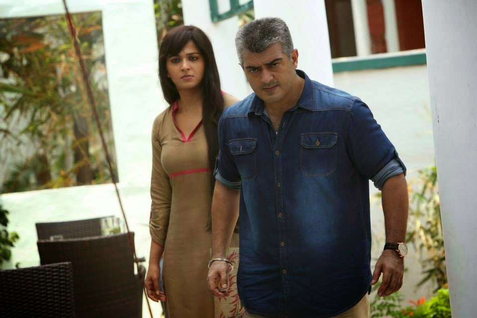 Ajith's Thala 55 Working Stills