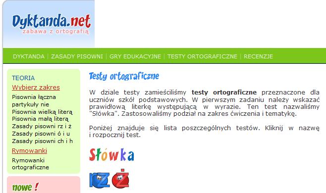 http://www.testy.dyktanda.net/