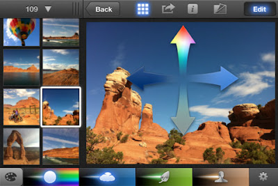 iPhoto for the new iPad 3 and iPhone