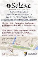 10/Junio. Jornada técnica de cata de Aceite de Oliva Virgén Extra. Valladolid