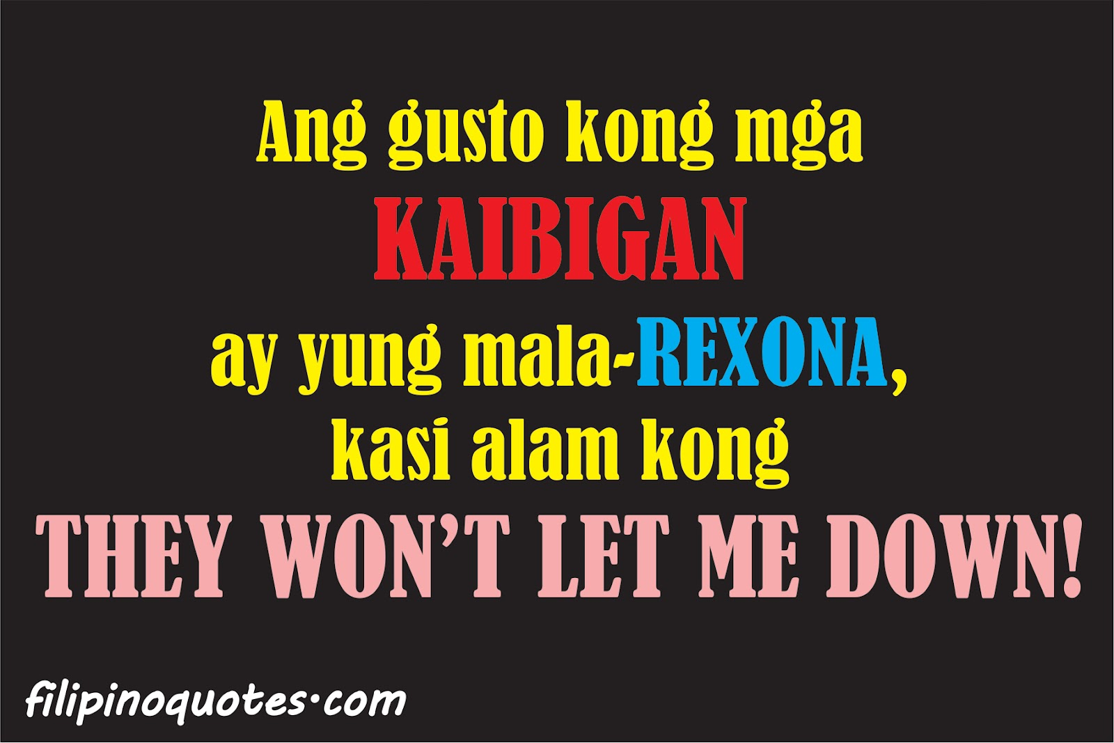 Quotes About Tagalog Friendship Kaibigan Quotes...