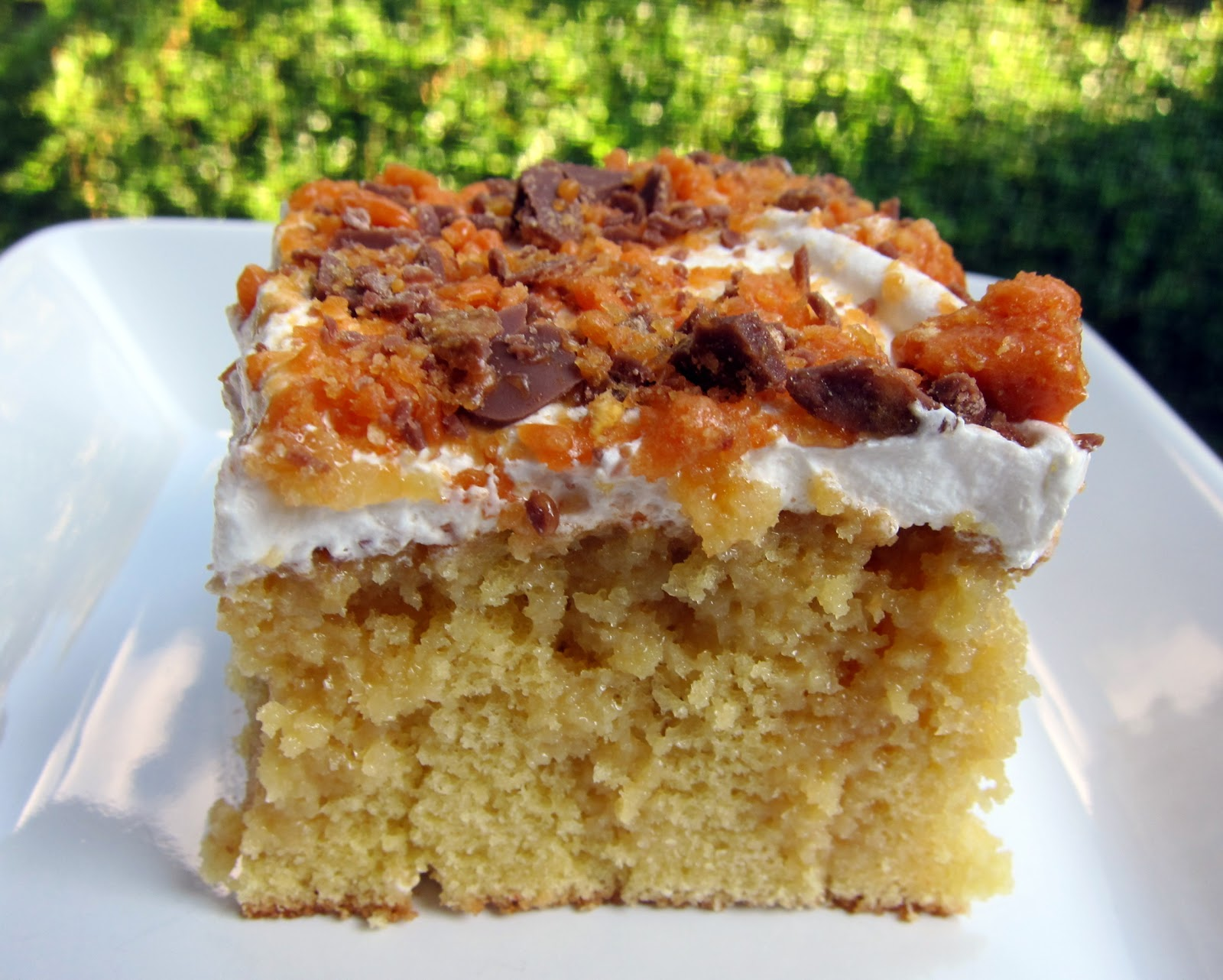 Butterfinger Cake Recipe With Yellow Cake