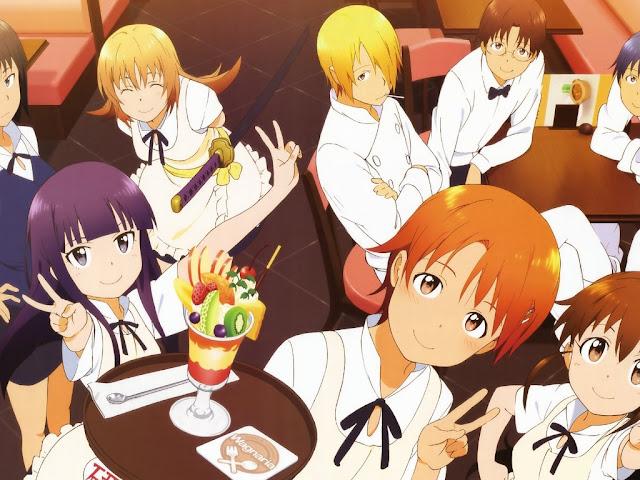 Working!!! Anime