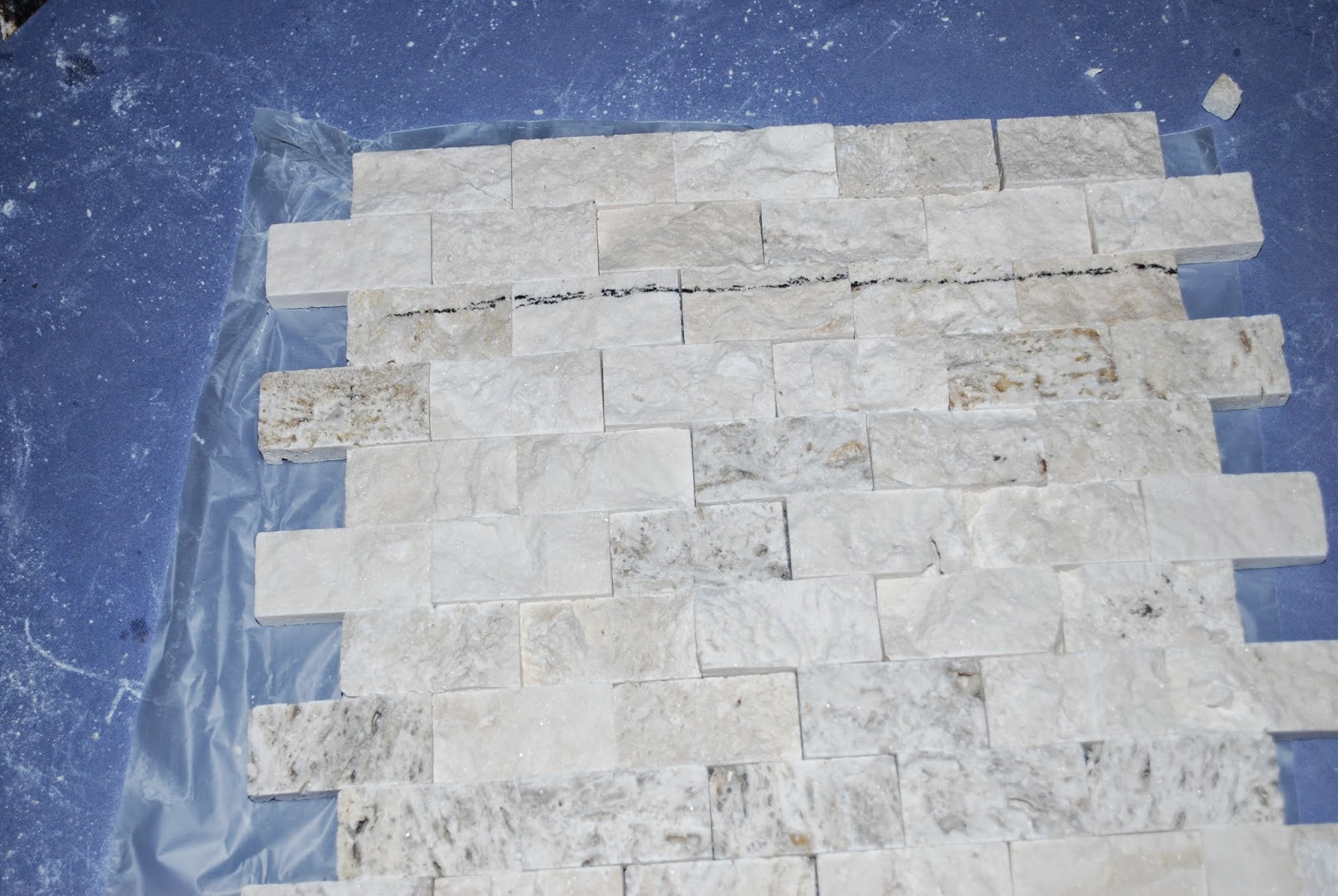 cut stacked stone tile to size