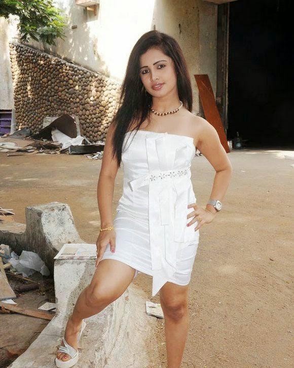 New Actress Hasika In White Mini Skirt Spicy Photos - FILM