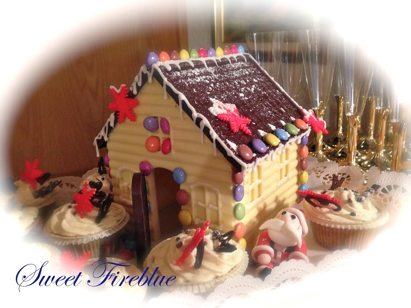 Casetta Di Natale Di Cioccolato : Sweet fireblue la casetta di babbo natale e forse anche della