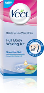 Free Veet Full Body Waxing Kit Sample ( Back Again )