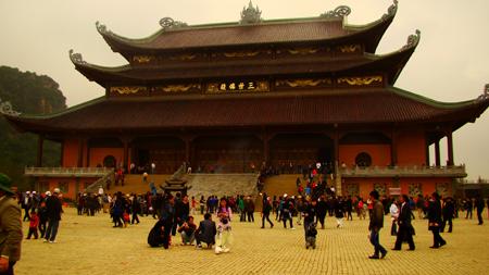 Chùa Bái Đính - Những ngôi chùa nổi tiếng ở Miền Bắc