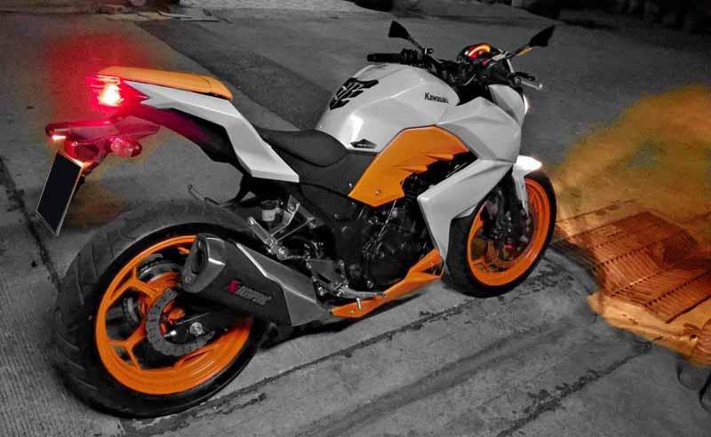 modifikasi motor ninja z250  paling bagus