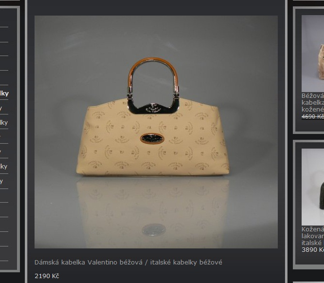 S proslulým módním domem Valentino má společnou opravdu jen část jména.  Tyhle nehezké kabelky jsou totiž značky Walter Valentino. Walter Valentino  má pár ... e1840af2e7b