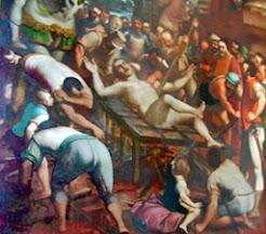 Martirio de San Lorenzo de Lucas Jordán
