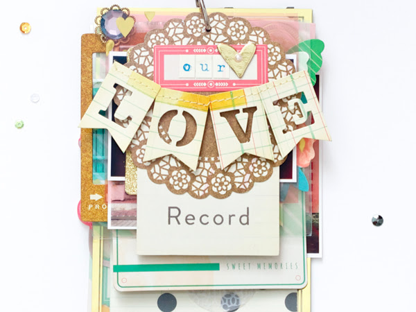 Maggie Holmes Design Team : Our Love Record Mini Album