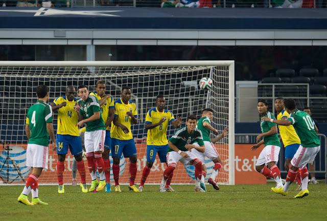 Mexico vs Ecuador Copa America 19-06-2015 - Group A