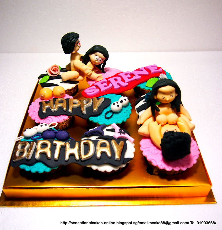 The Sensational Cakes Kama Sutra Cupcakes Singapore Naughty