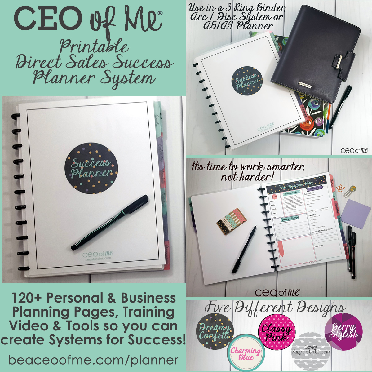 My favorite Direct Sales Planner System
