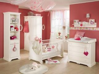 fotos e imagens de Decoração para Quarto de Bebê Feminino