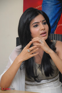 Samantha Latest Pictures in Salwar Kameez at SVSC Interview  0002.JPG