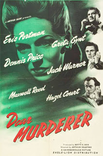 Dear Murderer (1947) movie poster