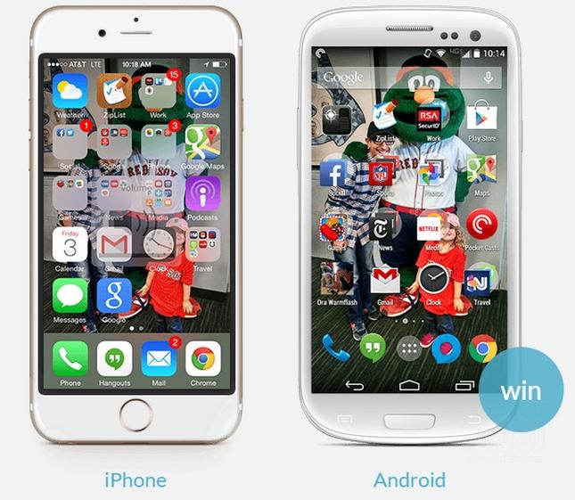 Можно ли сделать андроид как айфон