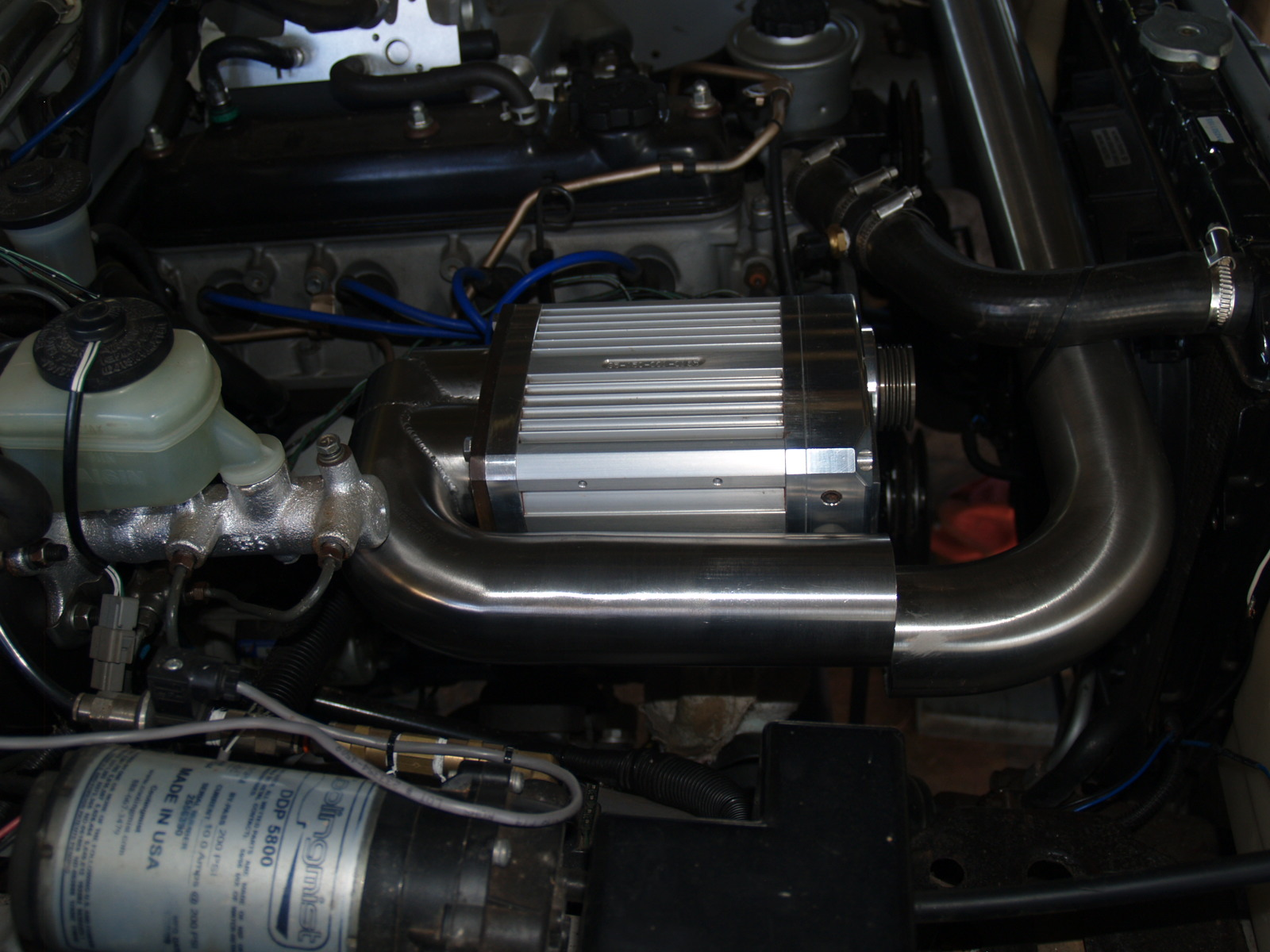 4y Supercharger Toyota Supercharged Rebuild Engine Timing Marks This Is Why I Opted For Davis Craig Electric Water Pump Thermo Fan