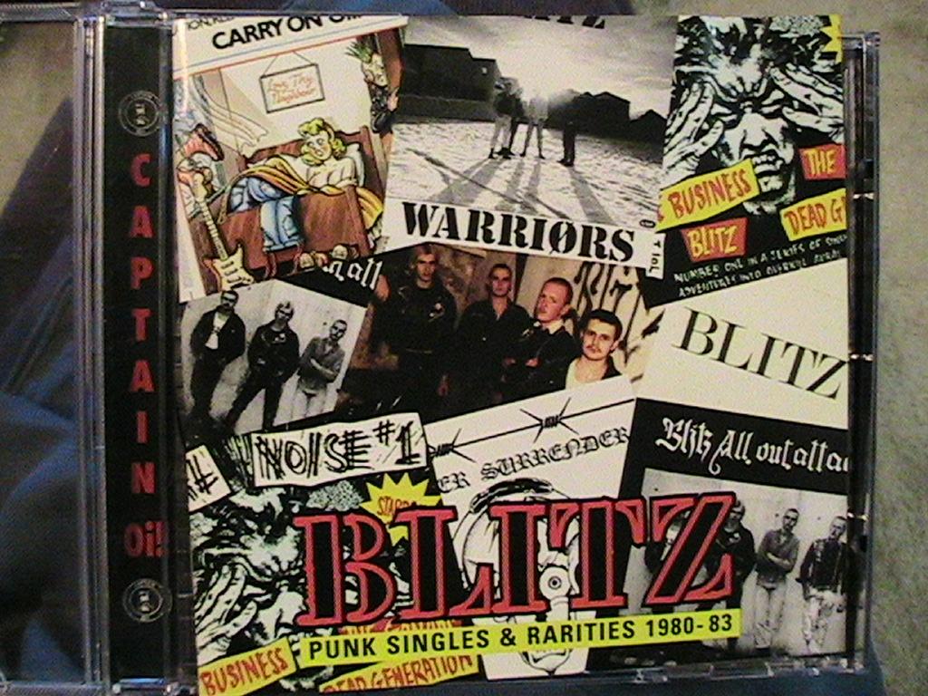 Down Underground Blitz Singles And Rarities 1980 83