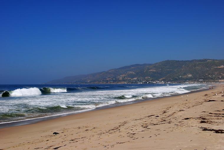 Zuma beach.