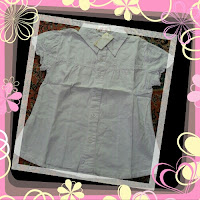 blouse guess putih