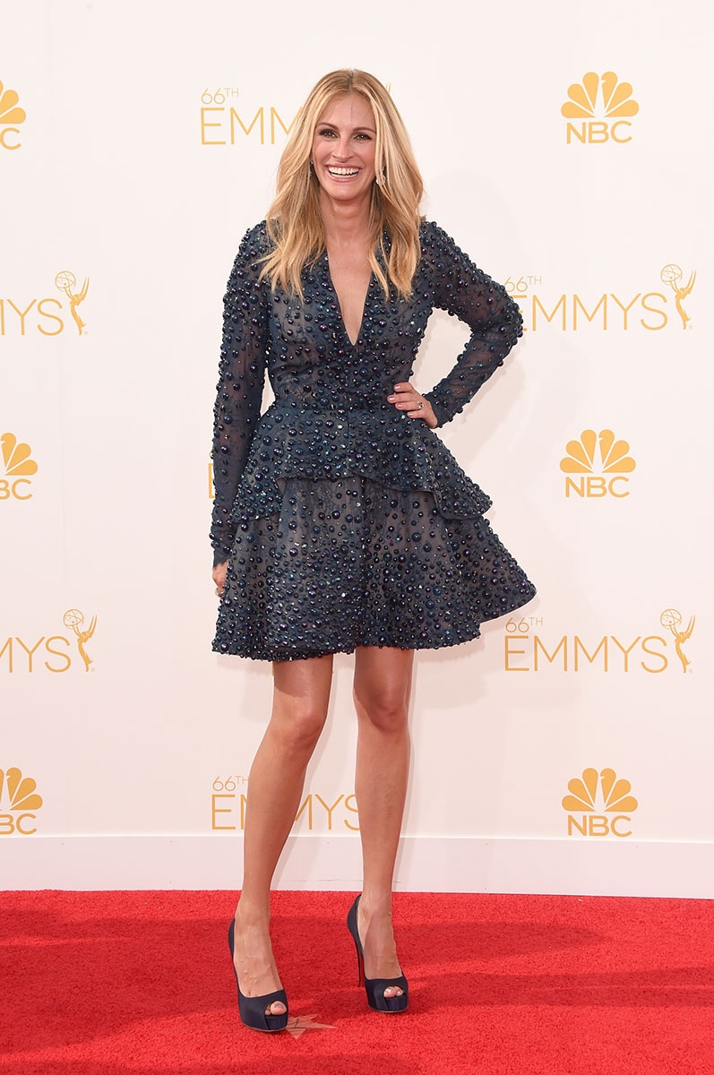 Julia Roberts in Elie Saab at the Emmy Awards