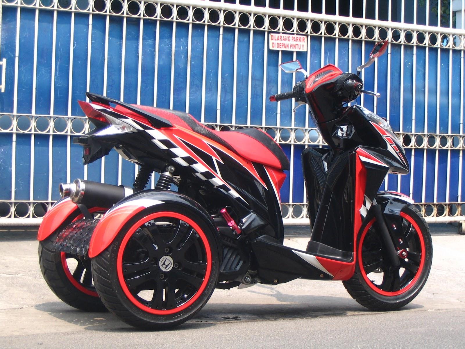 Roda Tiga Honda Vario Techno 125 Pesanan Mr. Nandang Pandeglang title=