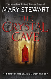 The Crystal Cave by Mary Stewart book cover