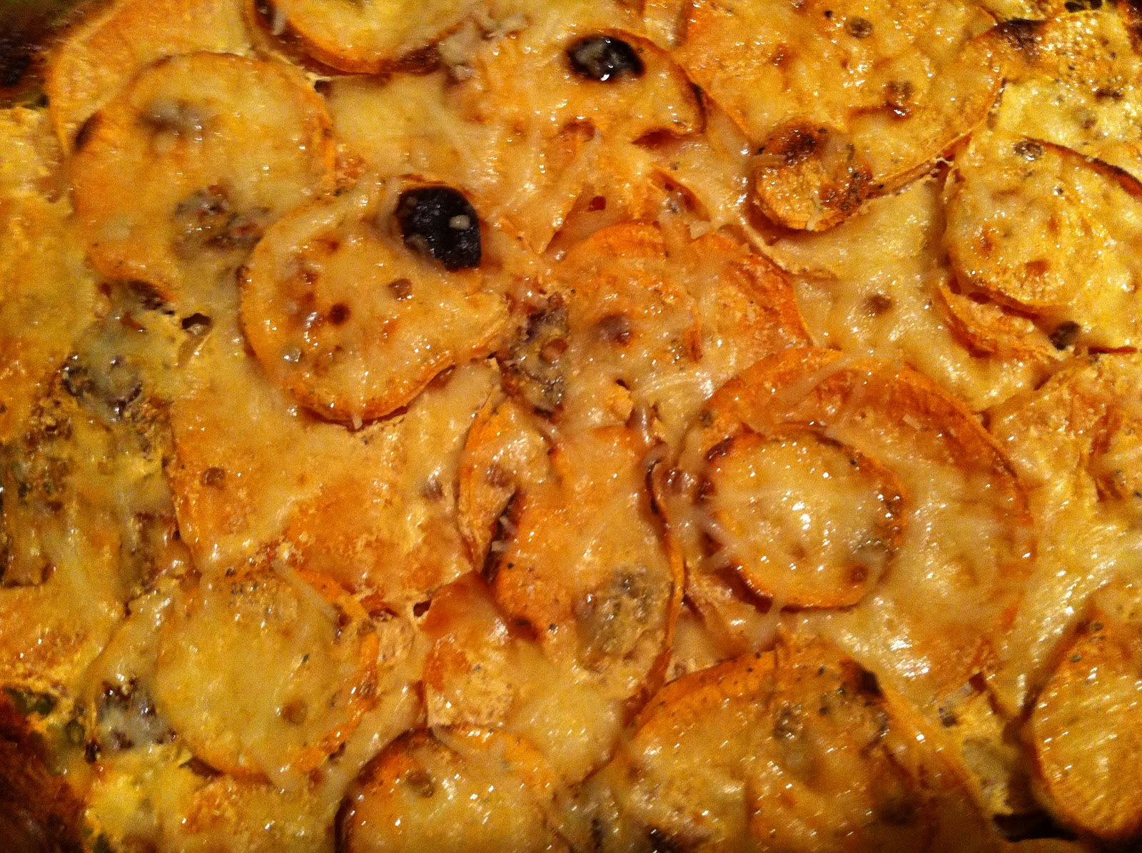 Sweet Potato Gratin Recipe — Dishmaps