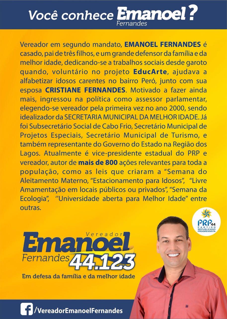 CONHEÇA EMANOEL FERNANDES