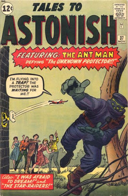 Tales to Astonish 37, Ant Man vs the Protector