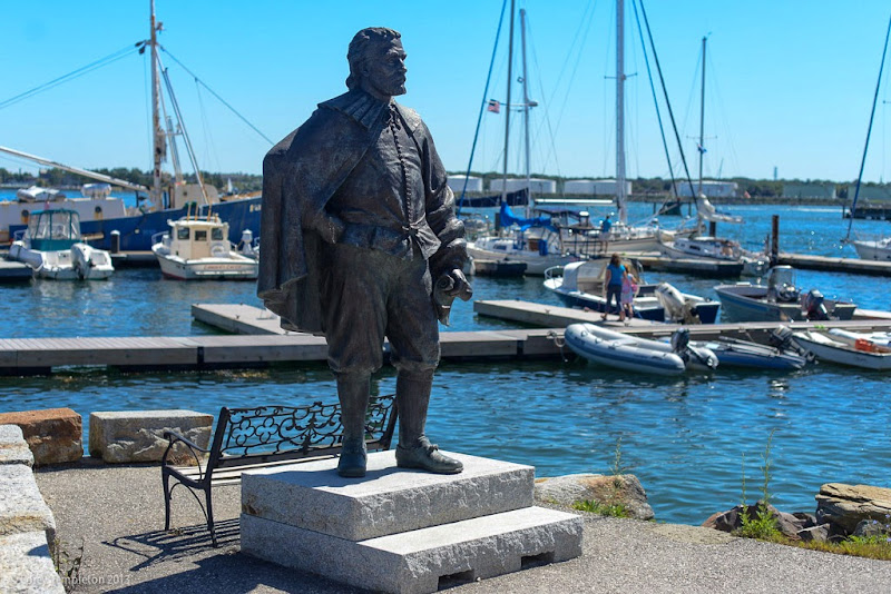 George Cleeve Statue Portland, Maine Photo by Corey Templeton